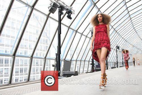 Amber Le Bon London Fashion Week Spring/Summer 2011...