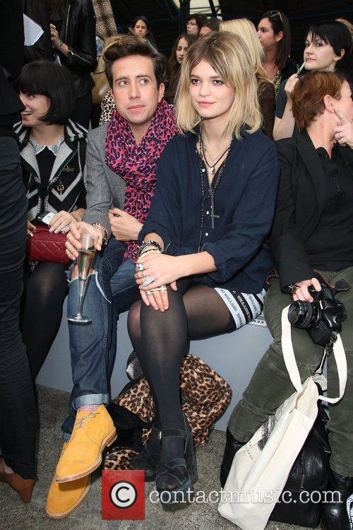 Lily Allen, Nick Grimshaw and Pixie Geldof 1