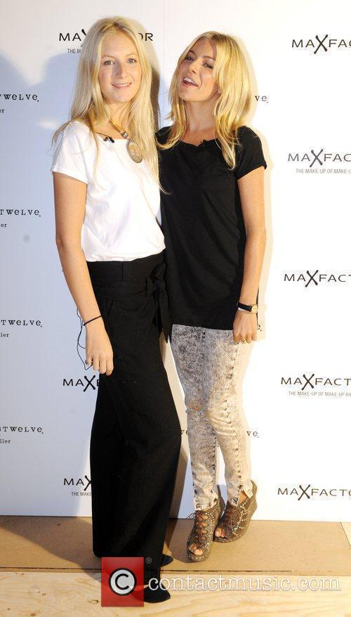 Savannah and Sienna Miller London Fashion Week Spring/Summer...