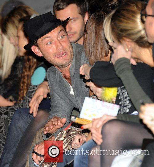 Jude Law London Fashion Week Spring/Summer 2011 -...