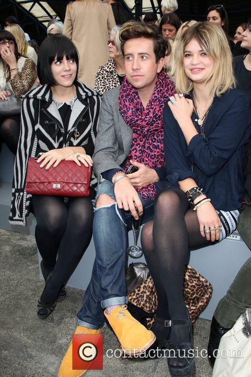 Lily Allen, Nick Grimshaw and Pixie Geldof 2