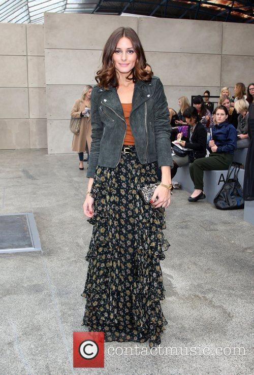 Olivia Palermo London Fashion Week Spring/Summer 2011 -...