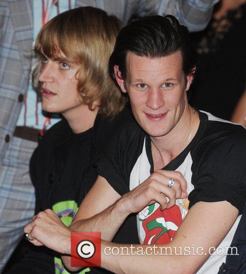 Matt Smith  London Fashion Week Spring/Summer 2011...