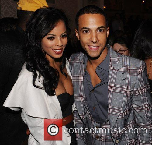 Rochelle Wiseman and Marvin Humes  London Fashion...