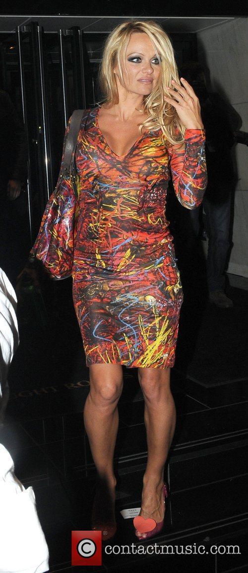 Pamela Anderson, Vivienne Westwood, London Fashion Week