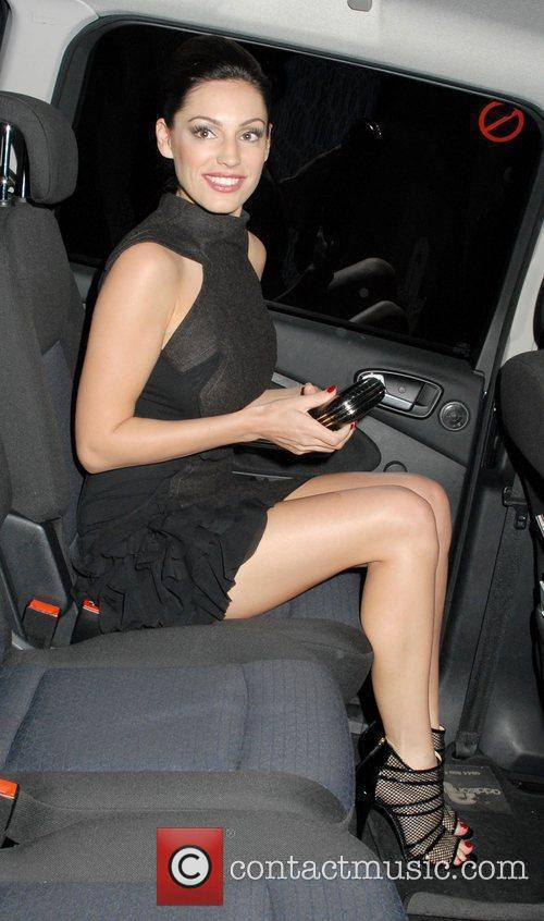 Kelly Brook LG Optimus One Launch Party held...