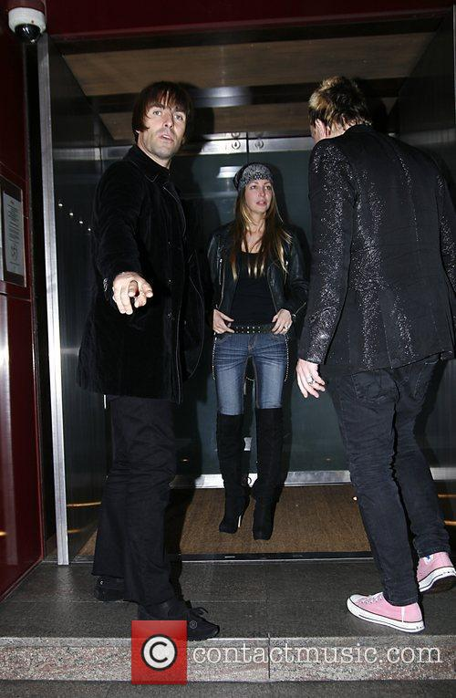 Liam Gallagher And Nicole Appleton, Liam Gallagher and Nicole Appleton