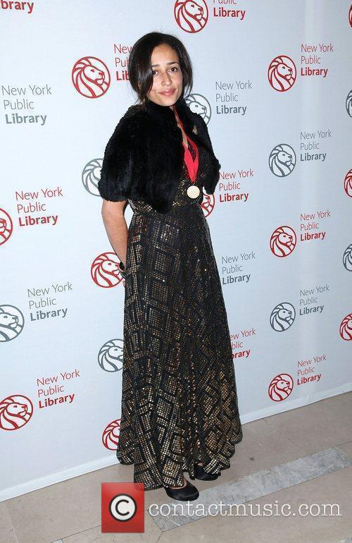 Zadie Smith The 2010 Library Lions Benefit held...