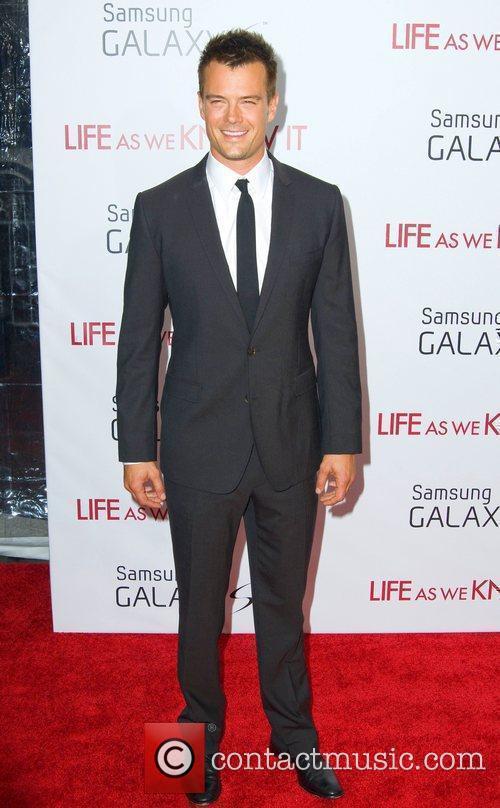 Josh Duhamel New York premiere of 'Life As...