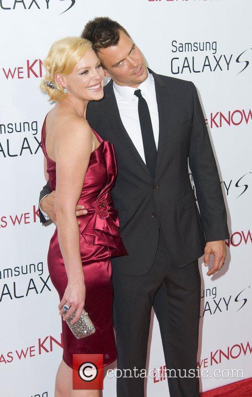 Katherine Heigl and Josh Duhamel New York premiere...