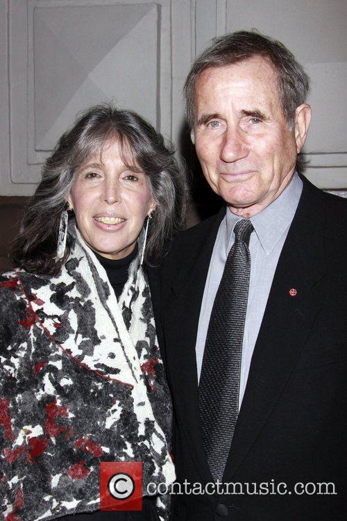 Julie Schafler and Jim Dale Opening night of...