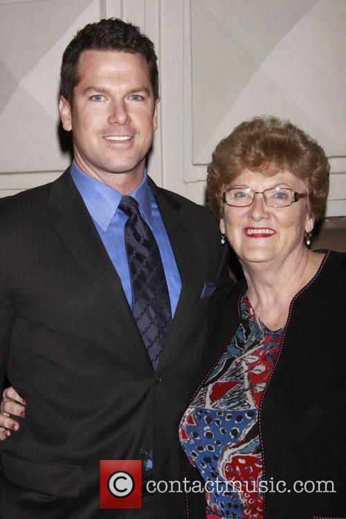 CNN reporter and his mother Opening night of...