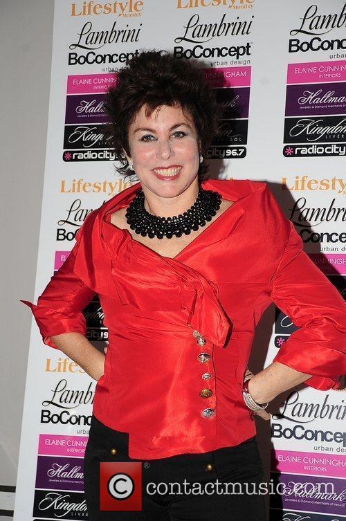 Ruby Wax at the lifestyle awards held at...