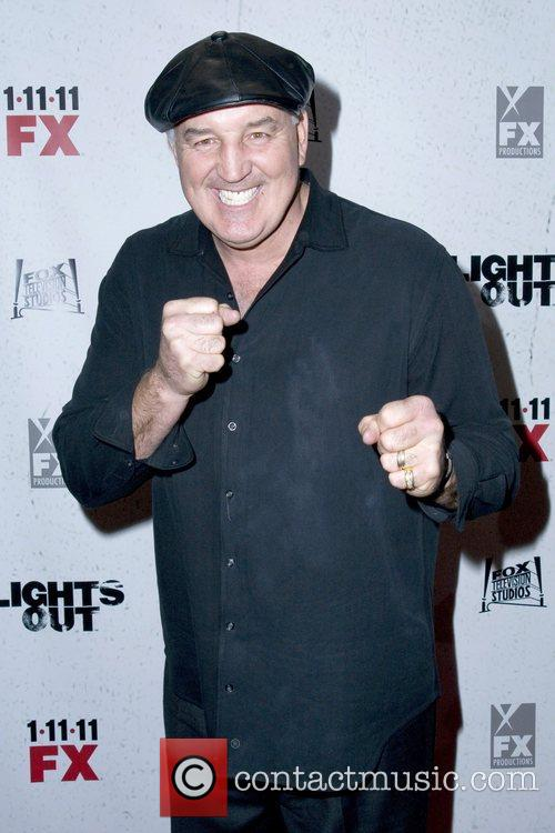 Gerry Cooney Premiere screening of FX's 'Lights Out'...