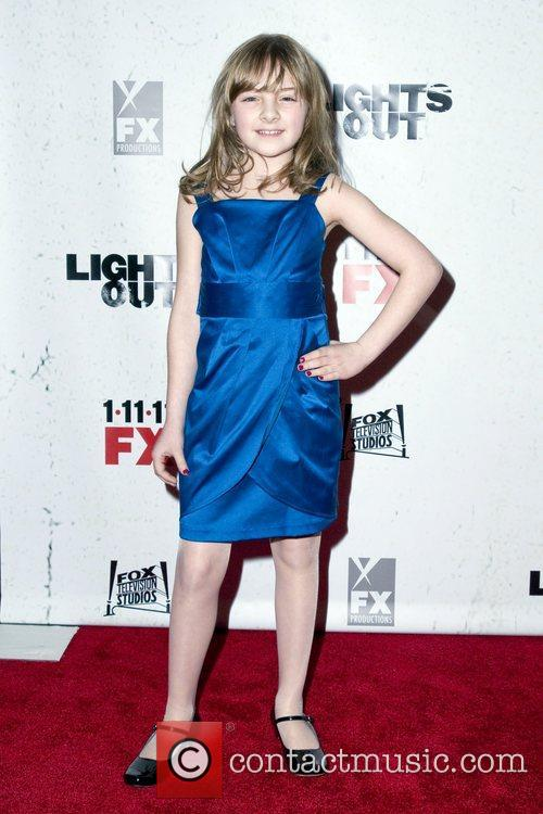 Lily Pilblad Premiere screening of FX's 'Lights Out'...