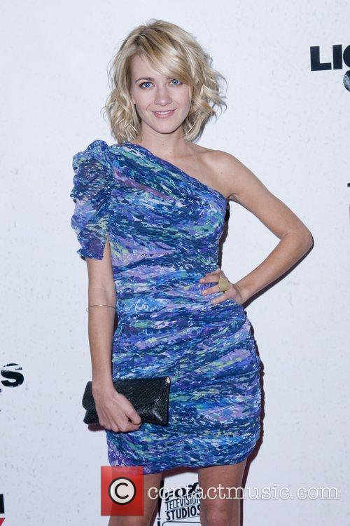 Meredith Hagner Premiere screening of FX's 'Lights Out'...