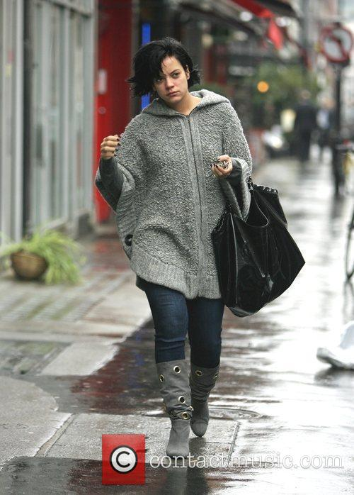 Lily Allen out and about in Central London,...