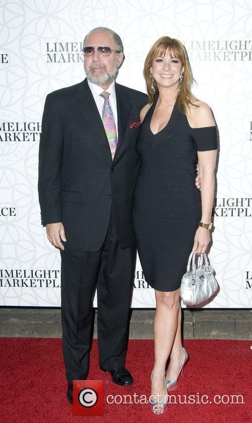 Jill Zarin and husband  The landmark Limelight...