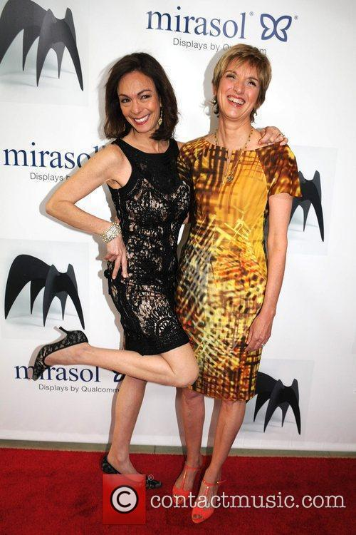 Marlene Kahan and Peggy Northrop the 45th Annual...