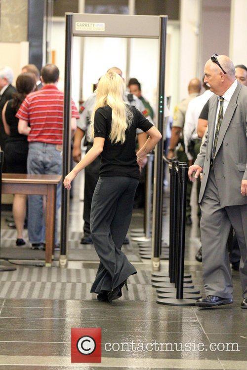 Lindsay Lohan  arrives at the Beverly Hills...