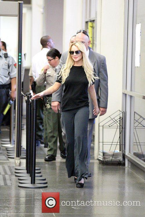 Arrives at the Beverly Hills Courthouse for a...