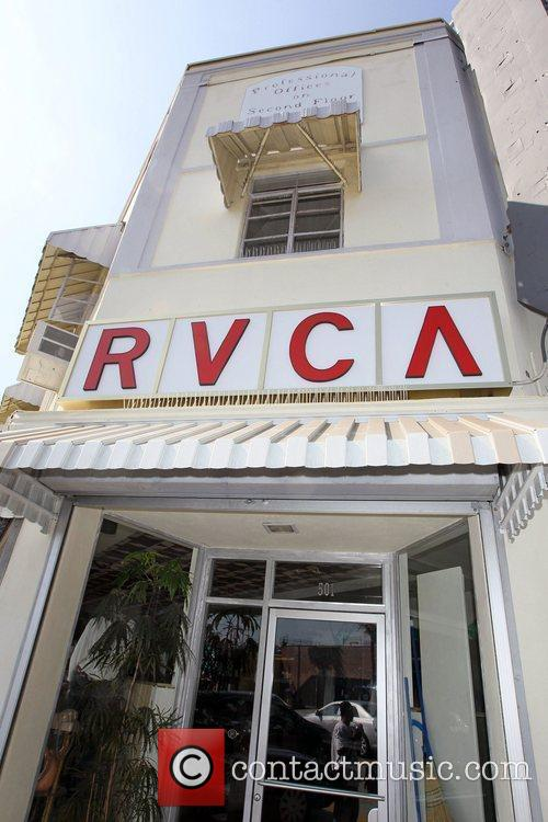 Atmosphere A general view of the RVCA vintage...