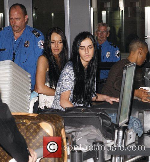 Lindsay Lohan and Her Sister Ali 6
