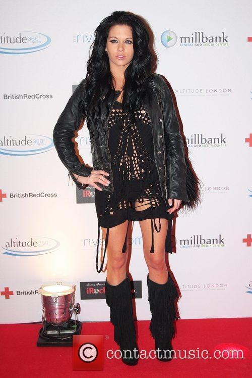 Bianca Gascoigne  arrives for the 'Brit Celebration...