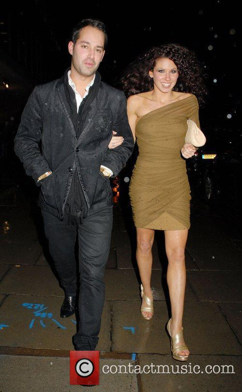 Charlie Bruce and guest arrive for the 'Brit...