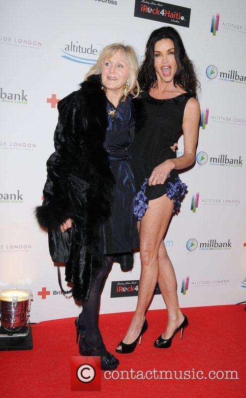 Janice Dickinson and guest arrive for the 'Brit...