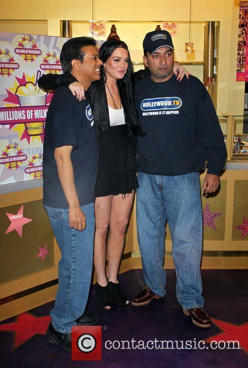 Lindsay Lohan and Sheeraz Hasan Lindsay Lohan and...