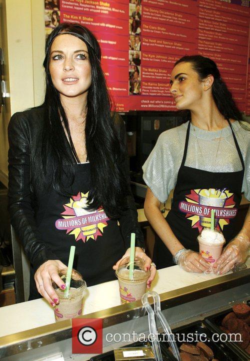 Lindsay Lohan and Ali Lohan 14