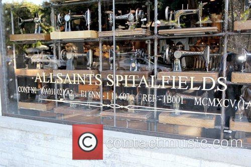 Atmosphere AllSaints Spitalfields boutique on Robertson Boulevard Los...