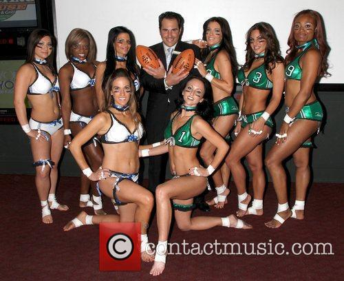 Lingerie Football League Founder and Chairman Mitchell Mortaza...