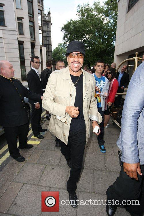Arriving at the Dorchester Hotel