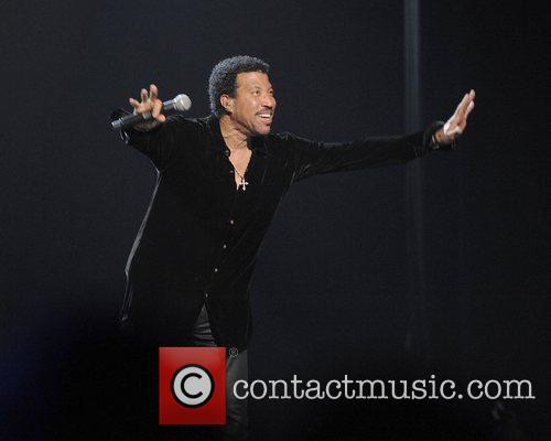 Lionel Richie performing live on stage at the...