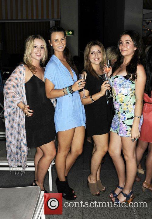 Guests Cleo magazine hosts it's annual 'Liquid Catwalk'...