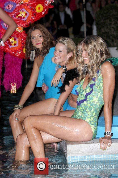 Models Cleo magazine hosts annual 'Liquid Catwalk' swimsuit...