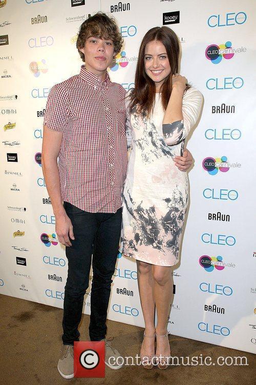 Tim Commandeur and April-Rose Pengilly Cleo magazine hosts...