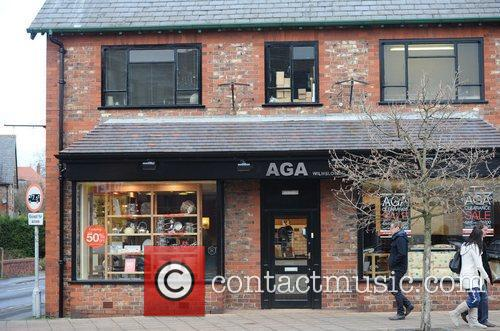 'AGA' store Lisa Carrick, the wife of Manchester...