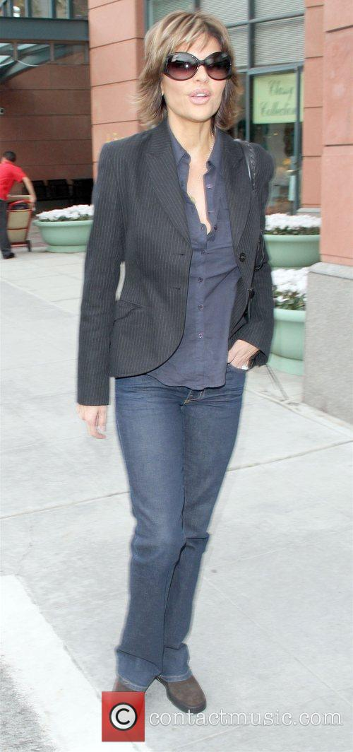 Actress Lisa Rinna  spotted leaving a medical...