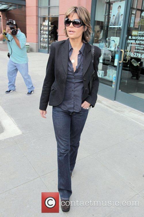 Lisa Rinna seen leaving medical building in Beverly...