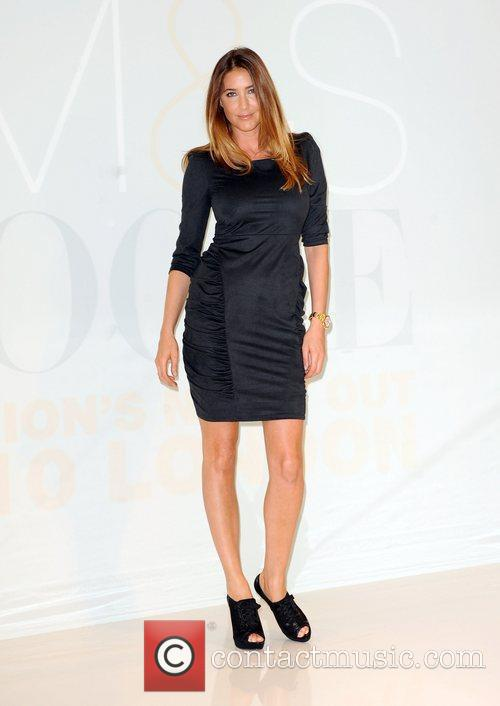 Lisa Snowdon  launches the new M&S Autumn...