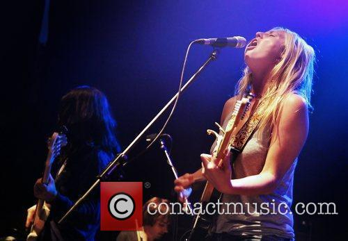 Lissie  performing live at Liverpool University...