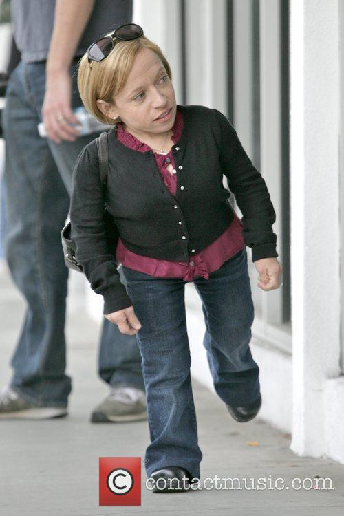 Jen Arnold TLC's 'The Little Couple' filming at...