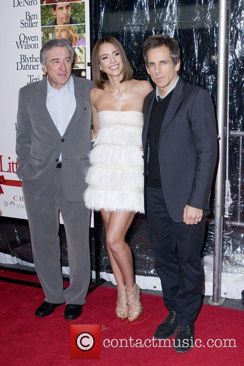 Robert De Niro, Ben Stiller and Jessica Alba 2