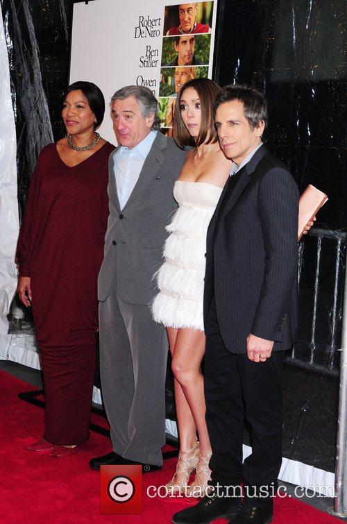 Grace Hightower, Ben Stiller, Jessica Alba and Robert De Niro 2