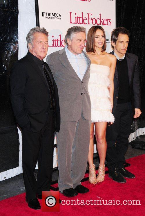 Robert De Niro, Ben Stiller and Jessica Alba 9