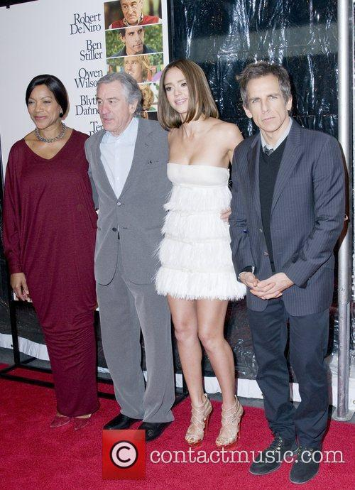 Grace Hightower, Ben Stiller, Jessica Alba and Robert De Niro 1