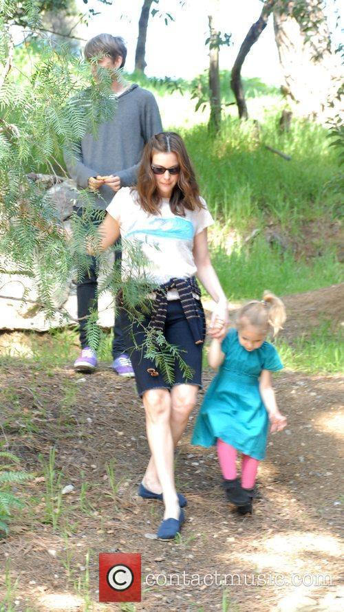 Liv Tyler, family friends enjoying the weekend with a visit to Griffith Park in Santa Monica
